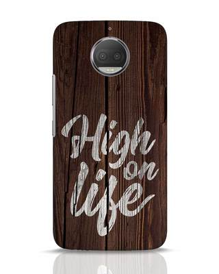 Shop High On Life Moto G5s Plus Mobile Cover-Front