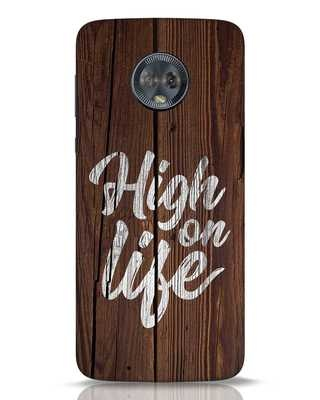 Shop High On Life Moto G6 Mobile Cover-Front