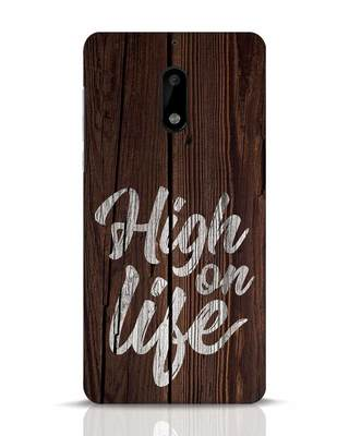 Shop High On Life Nokia 6 Mobile Cover-Front