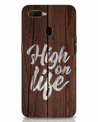 Shop High On Life Oppo A5s Mobile Cover-Front