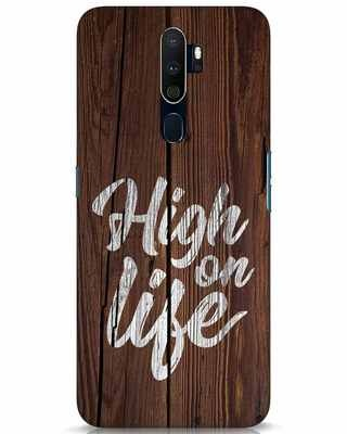 Shop High On Life Oppo A9 2020 Mobile Cover-Front