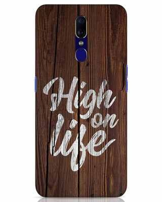 Shop High On Life Oppo F11 Mobile Cover-Front