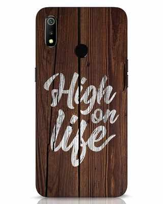 Shop High On Life Realme 3 Mobile Cover-Front