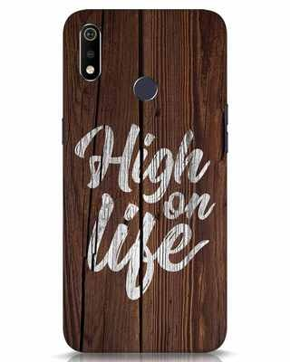 Shop High On Life Realme 3i Mobile Cover-Front