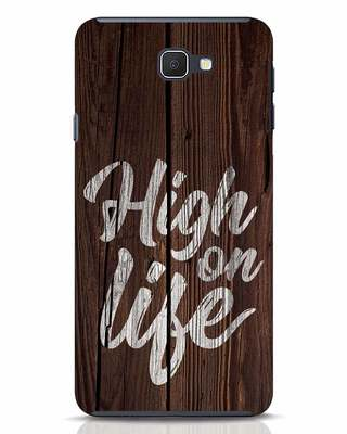 Shop High On Life Samsung Galaxy J7 Prime Mobile Cover-Front