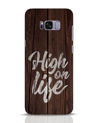 Shop High On Life Samsung Galaxy S8 Plus Mobile Cover-Front