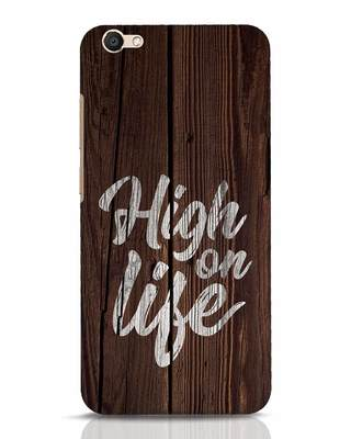 Shop High On Life Vivo V5 Mobile Cover-Front