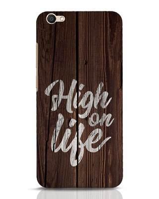 Shop High On Life Vivo V5 Mobile Cover-Front