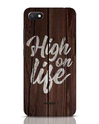 Shop High On Life Xiaomi Redmi 6A Mobile Cover-Front