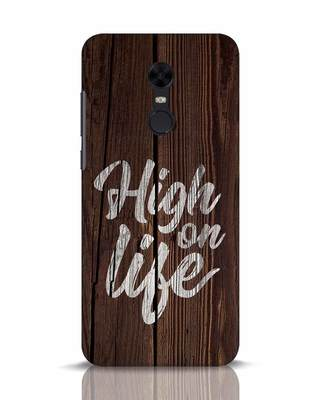 Shop High On Life Xiaomi Redmi Note 5 Mobile Cover-Front