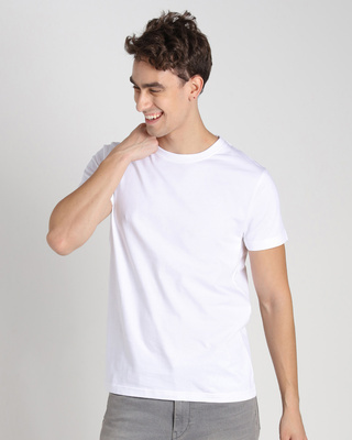 Shop Off-White Half Sleeve T-Shirt-Front