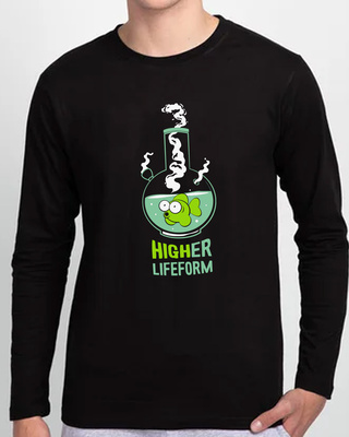 Shop Higher Life Form Full Sleeve T-Shirt-Front