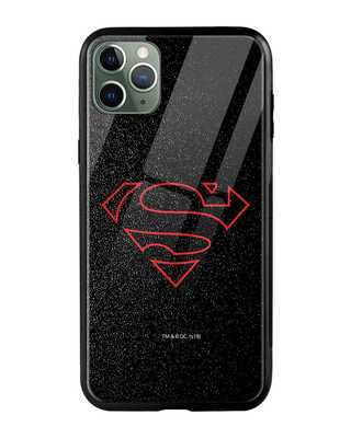 Shop Highlighted Superman iPhone 11 Pro Max Mobile Cover-Front