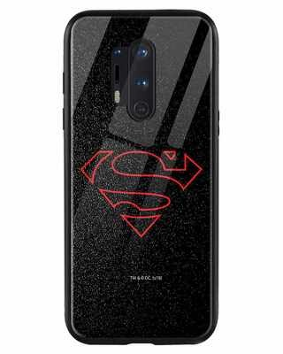 Shop Highlighted Superman OnePlus 8 Pro Mobile Cover-Front