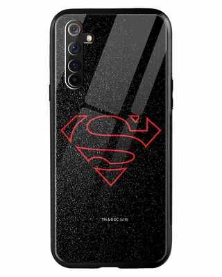 Shop Highlighted Superman Realme 6 Mobile Cover-Front