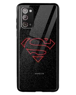 Shop Highlighted Superman Samsung Galaxy Note 20 Mobile Cover-Front