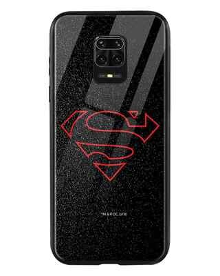 Shop Highlighted Superman Xiaomi Redmi Note 9 Pro Max Mobile Cover-Front