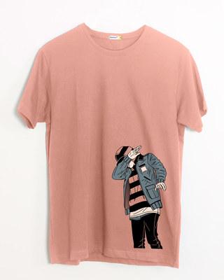 Shop Hip Hop Boy Half Sleeve T-Shirt-Front