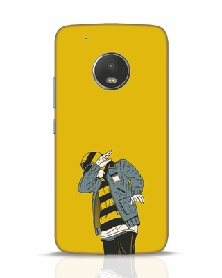 Shop Hip Hop Boy Moto G5 Plus Mobile Cover-Front
