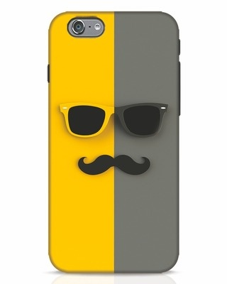 Shop Hipster iPhone 6 Mobile Cover-Front