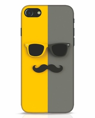 Shop Hipster iPhone 8 Mobile Cover-Front