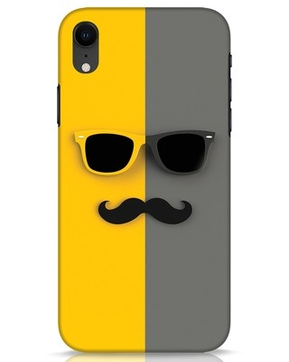 Shop Hipster iPhone XR Mobile Cover-Front