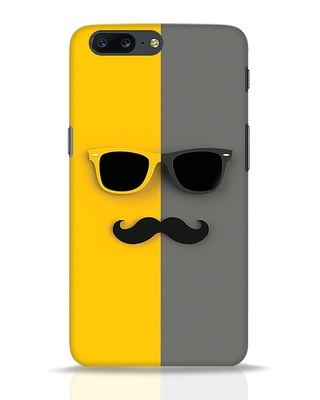 Shop Hipster OnePlus 5 Mobile Cover-Front