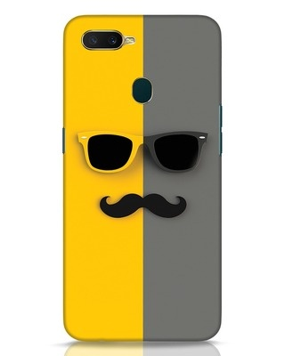 Shop Hipster Oppo A7 Mobile Cover-Front