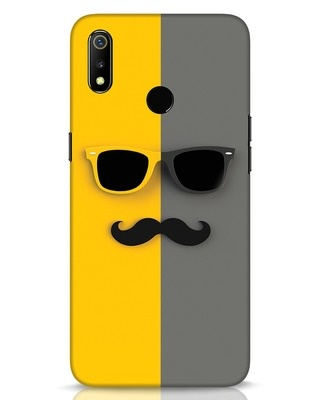 Shop Hipster Realme 3 Mobile Cover-Front