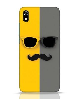 Shop Hipster Xiaomi Redmi 7A Mobile Cover-Front