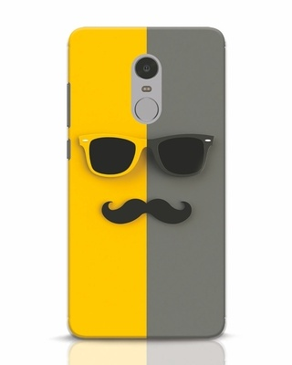 Shop Hipster Xiaomi Redmi Note 4 Mobile Cover-Front