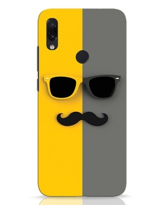 Shop Hipster Xiaomi Redmi Note 7 Mobile Cover-Front