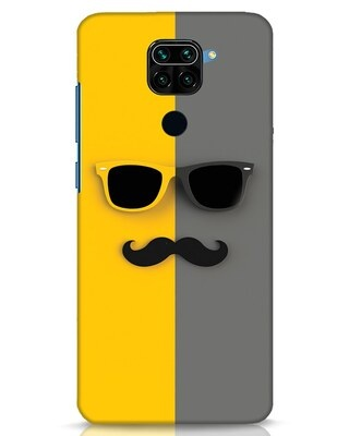 Shop Hipster Xiaomi Redmi Note 9 Mobile Cover-Front