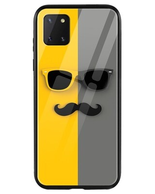 Shop Hipster Yellow Samsung Galaxy Note 10 Lite Mobile Cover-Front