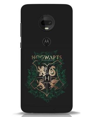 Shop Hogwarts Gold Moto G7 Mobile Cover (HP)-Front