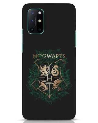 Shop Hogwarts Gold OnePlus 8T Mobile Cover (HP)-Front