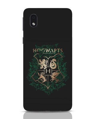 Shop Hogwarts Gold Samsung Galaxy M01 Mobile Cover (HP)-Front