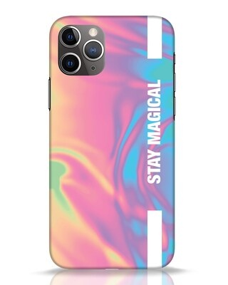 Shop Holographic Magical iPhone 11 Pro Mobile Cover-Front