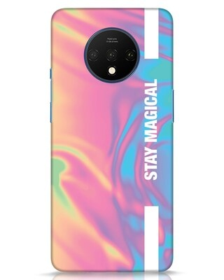 Shop Holographic Magical OnePlus 7T Mobile Cover-Front