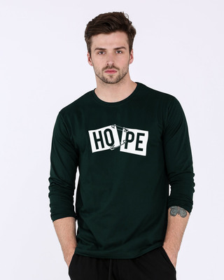 Shop Hope Pin Full Sleeve T-Shirt-Front