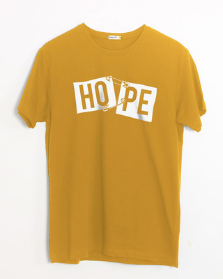 Shop Hope Pin Half Sleeve T-Shirt-Front