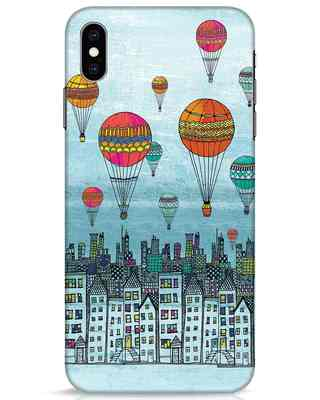 Shop Hot Air Balloon iPhone XS Max Mobile Cover-Front