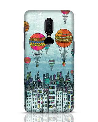 Shop Hot Air Balloon OnePlus 6 Mobile Cover-Front