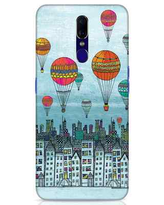 Shop Hot Air Balloon Oppo F11 Mobile Cover-Front