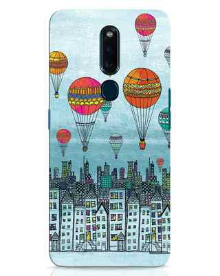 Shop Hot Air Balloon Oppo F11 Pro Mobile Cover-Front