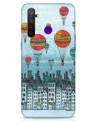 Shop Hot Air Balloon Realme 5 Pro Mobile Cover-Front