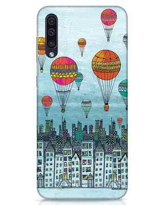 Shop Hot Air Balloon Samsung Galaxy A50 Mobile Cover-Front