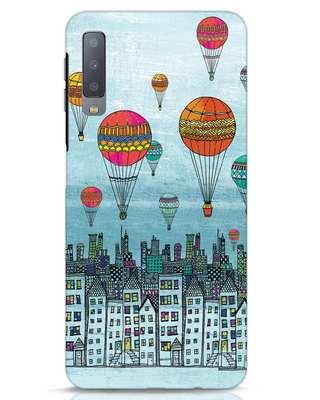 Shop Hot Air Balloon Samsung Galaxy A7 Mobile Cover-Front