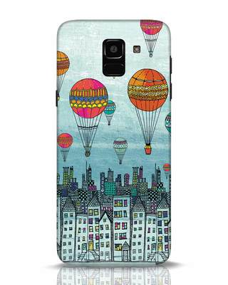 Shop Hot Air Balloon Samsung Galaxy J6 Mobile Cover-Front
