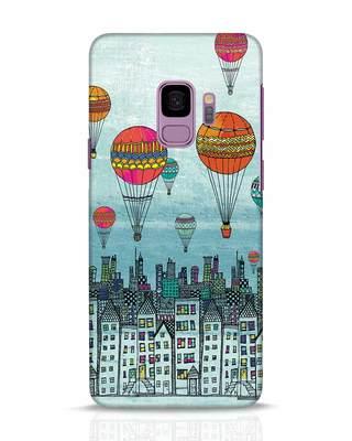 Shop Hot Air Balloon Samsung Galaxy S9 Mobile Cover-Front